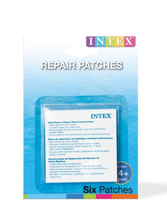 Intex Reparatieset – Set van 6 zelfklevende plakkers