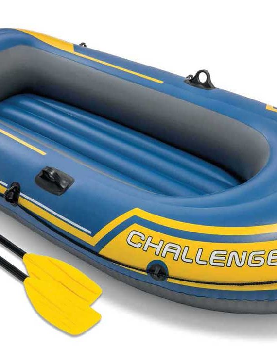 Opblaasboot Intex – Challenger 2 Set