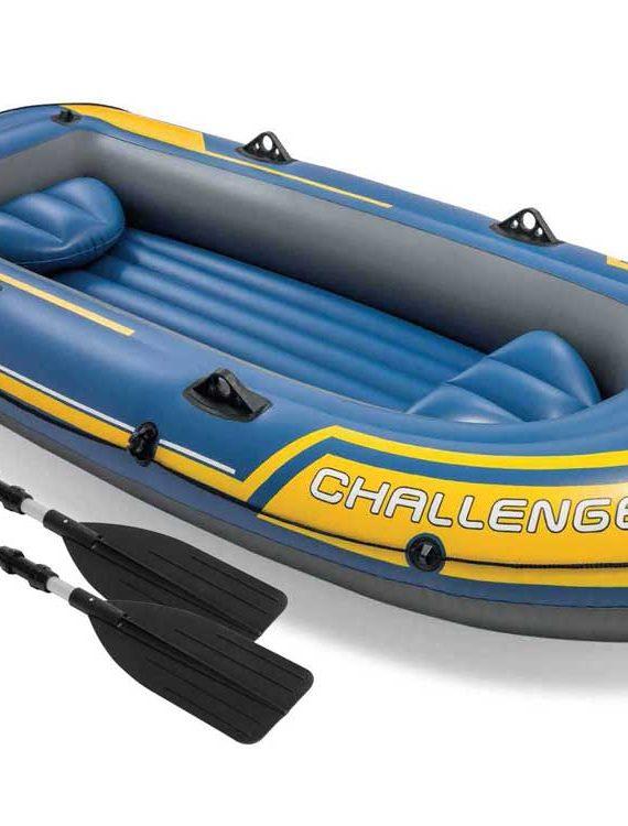 Opblaasboot Intex – Challenger 3 Set