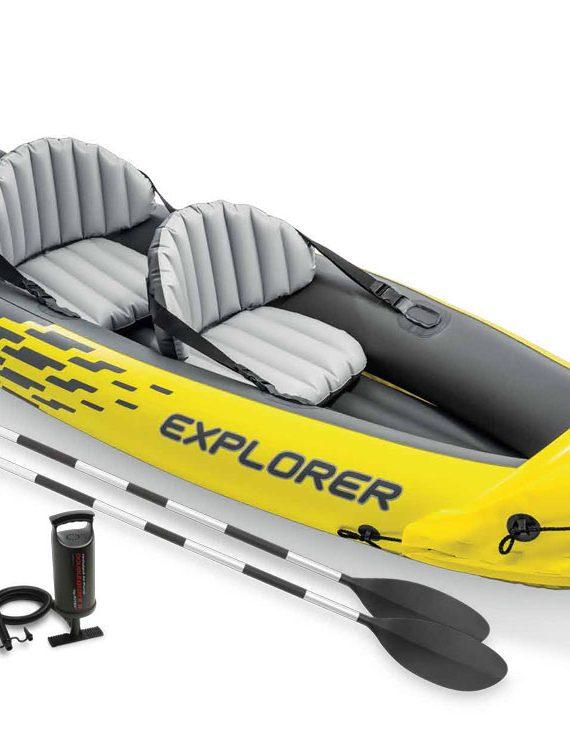 Opblaasboot Intex – Explorer K2 Set
