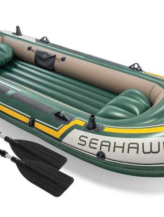 Opblaasboot Intex – Seahawk 4 Set