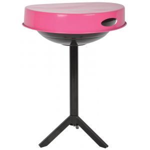 Barbecue tafel roze