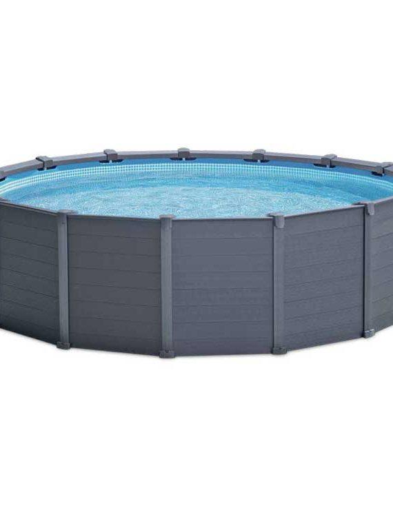 Intex Graphite Panel Pool Ø 478 cm (set)